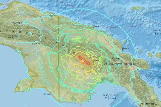 ULMWP Minta, agar Rakyat West Papua untuk Memberikan Belasungkawa Terhadap Warga PNG yang Terkena Dampak Bencana Gempa