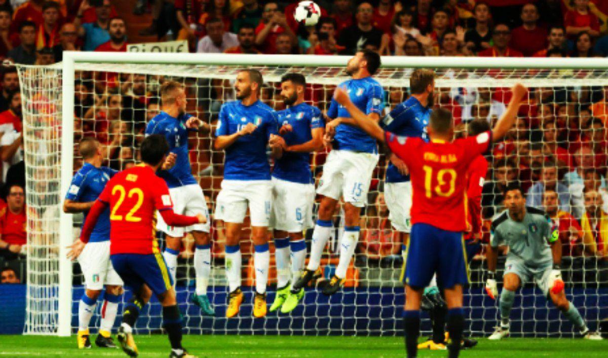 Spagna-Italia è finita 3-0: per Ventura l'unica possibilità si chiama Play-Off