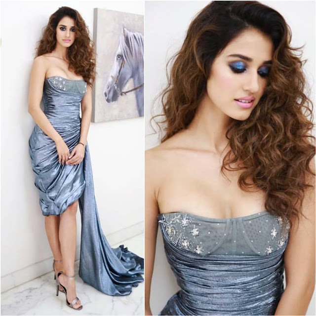 Disha Patani In Hamda Al Fahim At Elle Beauty Awards 2018