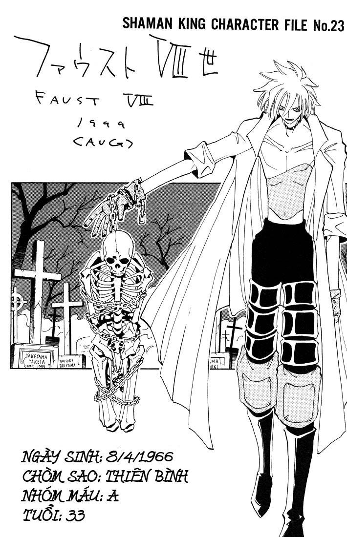 Shaman King [Vua pháp thuật] chap 42 trang 23