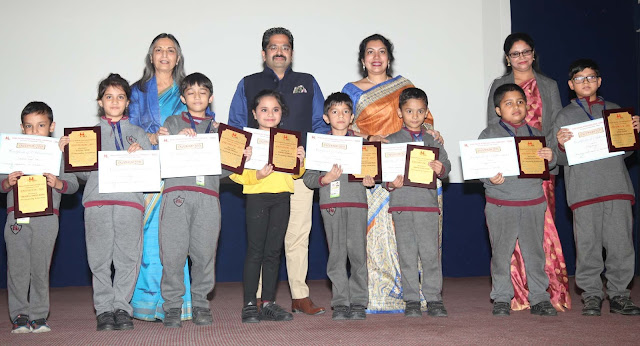 Manav Rachna International School, Charmwood sponsored meritorious students