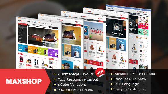 Download Maxshop - Responsive Multipurpose OpenCart Theme   Top Free ...