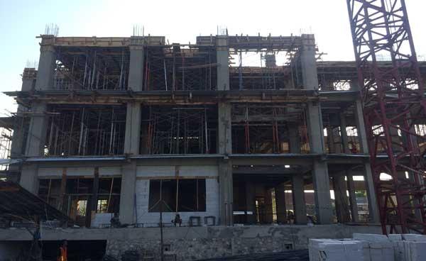 kontraktor gedung setda kota cirebon ajukan perpanjangan kontrak