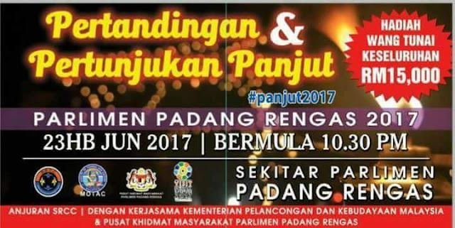 Pertandingan dan Pertunjukan Panjut Di Kuala Kangsar