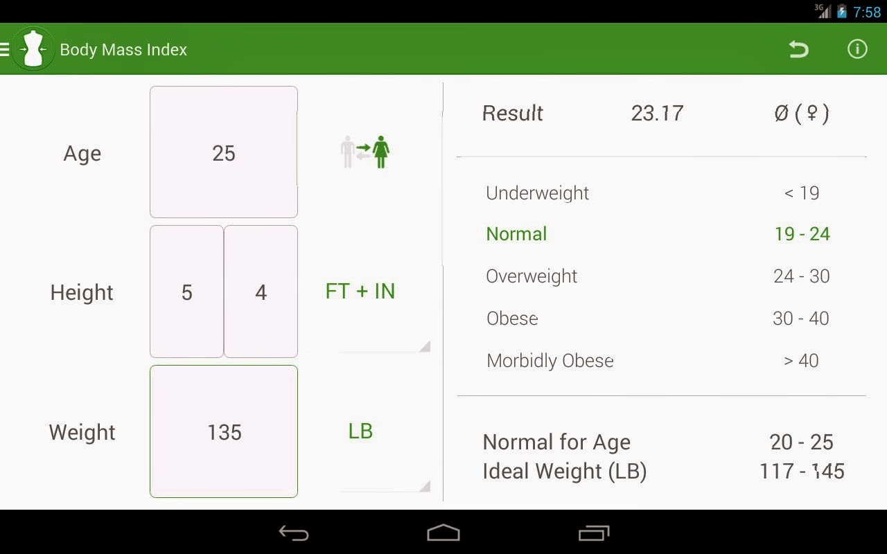 BMI Calculator - Weight Loss 2.0 APK - Android Apps