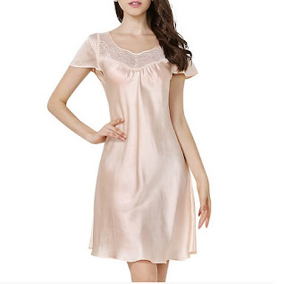 https://www.freedomsilk.com/19-momme-short-sleeved-classic-silk-nightgown-p-112.html