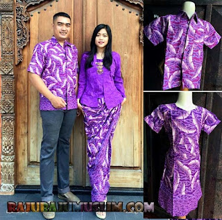 Model Baju Batik Couple Remaja Atasan