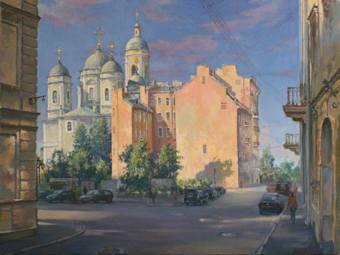 Российский художник. Меркушев Виктор