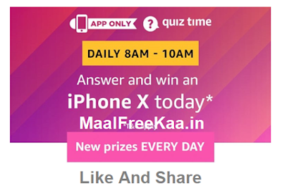 Quiz Time iPhone X