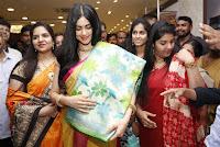 Actress Adah Sharma Launches Saree Niketan Showroom  0009.jpg