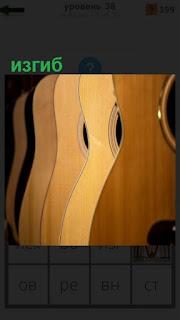 1100 слов несколько корпусов гитары с изгибом 38 уровень