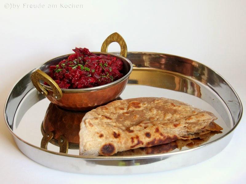 Indisches Rote Rüben (Rote Bete) Curry #vegan - Freude am Kochen