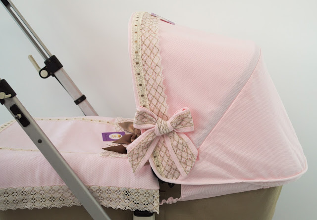 capota lencera capazo Bugaboo Camaleon rosa camel