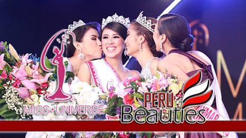 Miss Universe Myanmar 2018