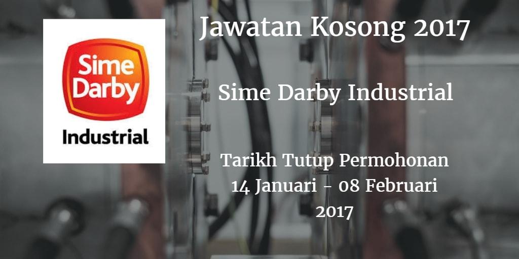 Jawatan Kosong Sime Darby Industrial 14 Januari - 08 Februari 2017