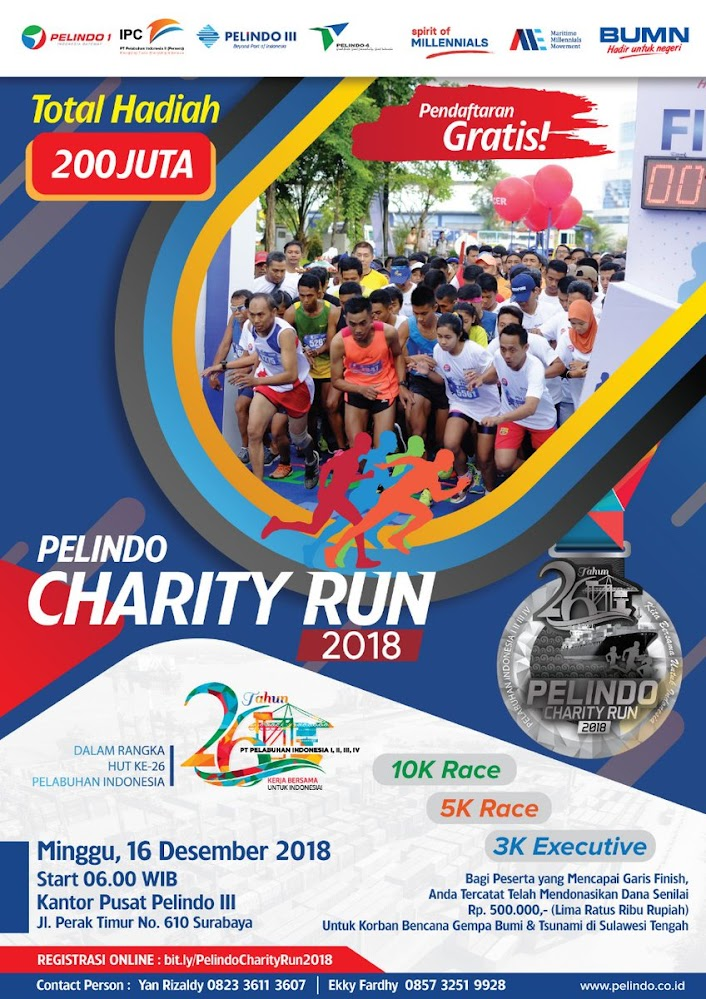 Pelindo Charity Run • 2018