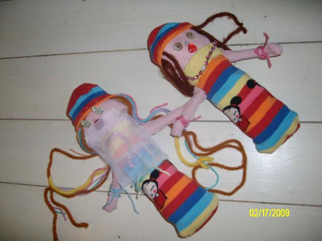 jolies poupées tissu maison