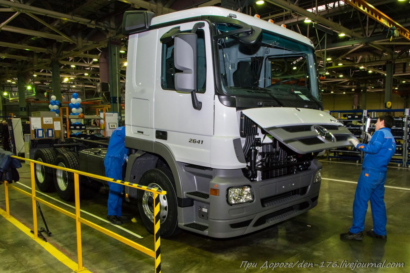 How to make MBTV 03 Mercedes Benz trucks in Naberezhnye Chelny