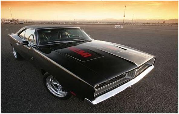 cool-blood: famous american muscle cars