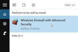 2 Cara Reset Windows Firewall Ke Pengaturan Semula