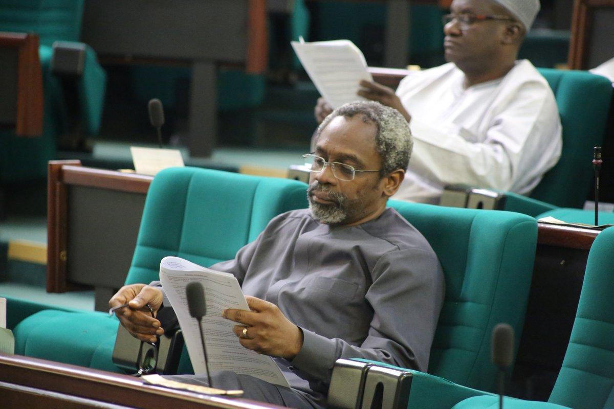 Image result for buhari budget gbajabiamila