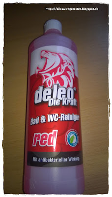 Deleo Bad und WC-Reiniger (Red)