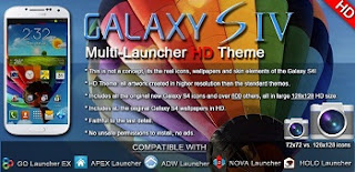 Galaxy S4 HD Multi Launcher Theme v2.3 APK