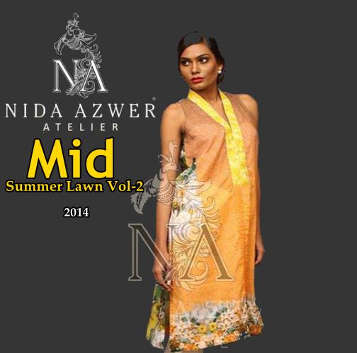 Nida Azwer Midsummer Eid Collection 2014