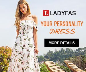 Ladyfas Fashion Summer Dress 2019