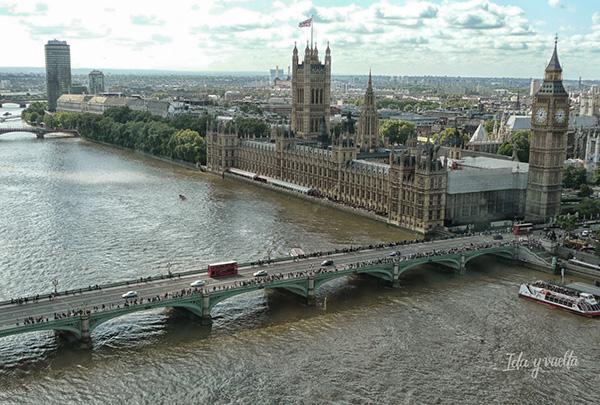 Vista desde la Noria de Londres