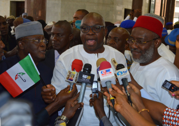 Gov.Fayose Insists That Buhari Went Into Coma In London