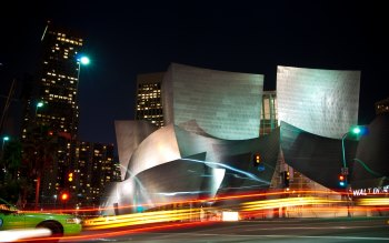 Wallpaper: Walt Disney Concert Hall in L.A.