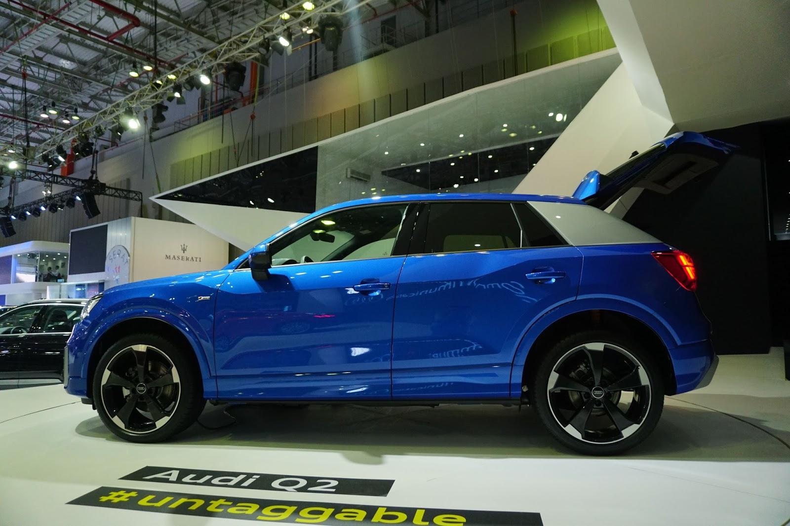 Audi Q2 2017 sẽ là hàng HOT trên thị trường xe sang Việt thời gian tới