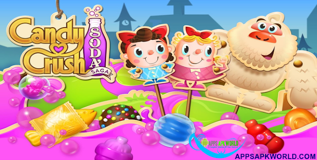 Candy Crush Soda Saga 1.71.3 Mega Mod APK Banner