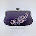 PERCH - COMING UP OF ROSES CLUTCH /DC ANNIVERSARY GIFT