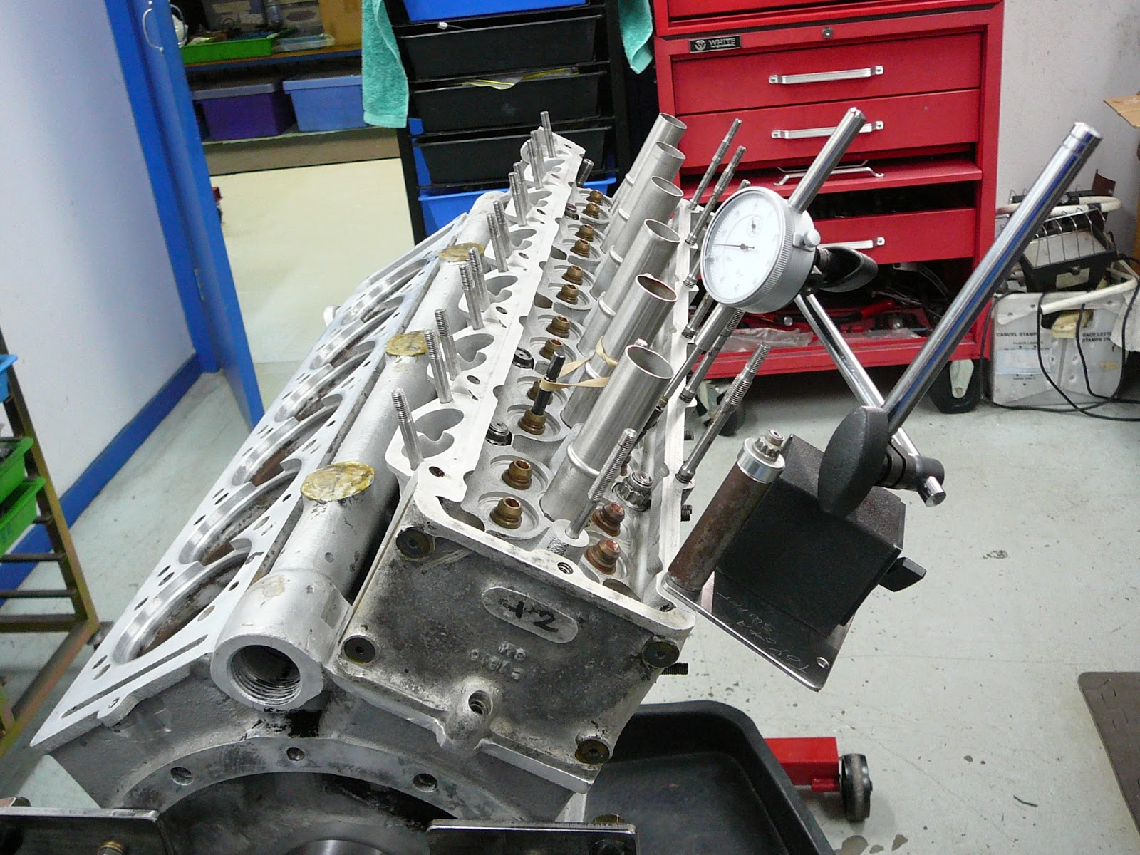 photos below are with the head mounted looking up from under the crank