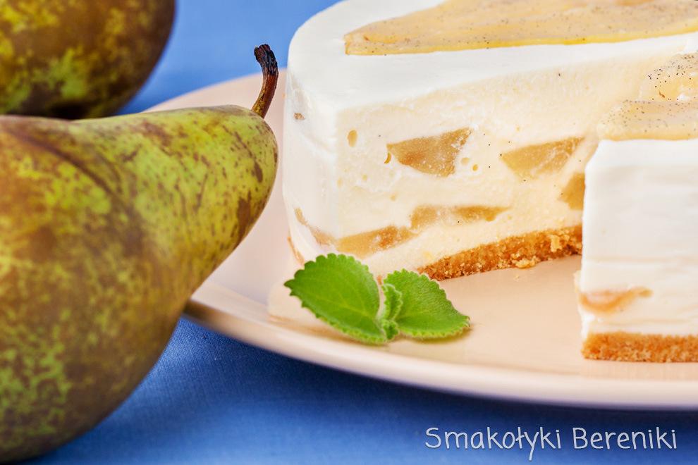Sernik z białą czekoladą bez pieczenia