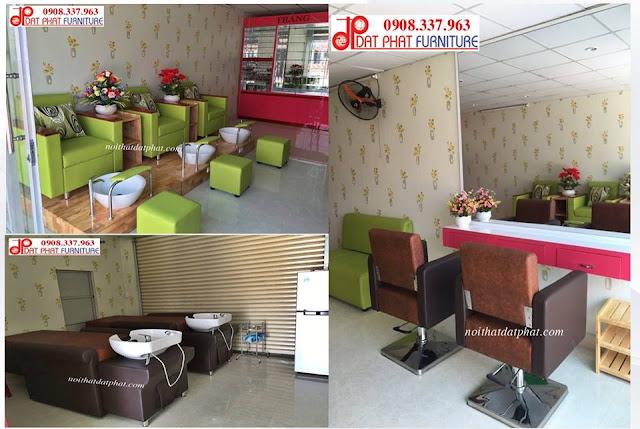 thiết kế nội thất shop nail, thiết kế shop nail diện tích nhỏ