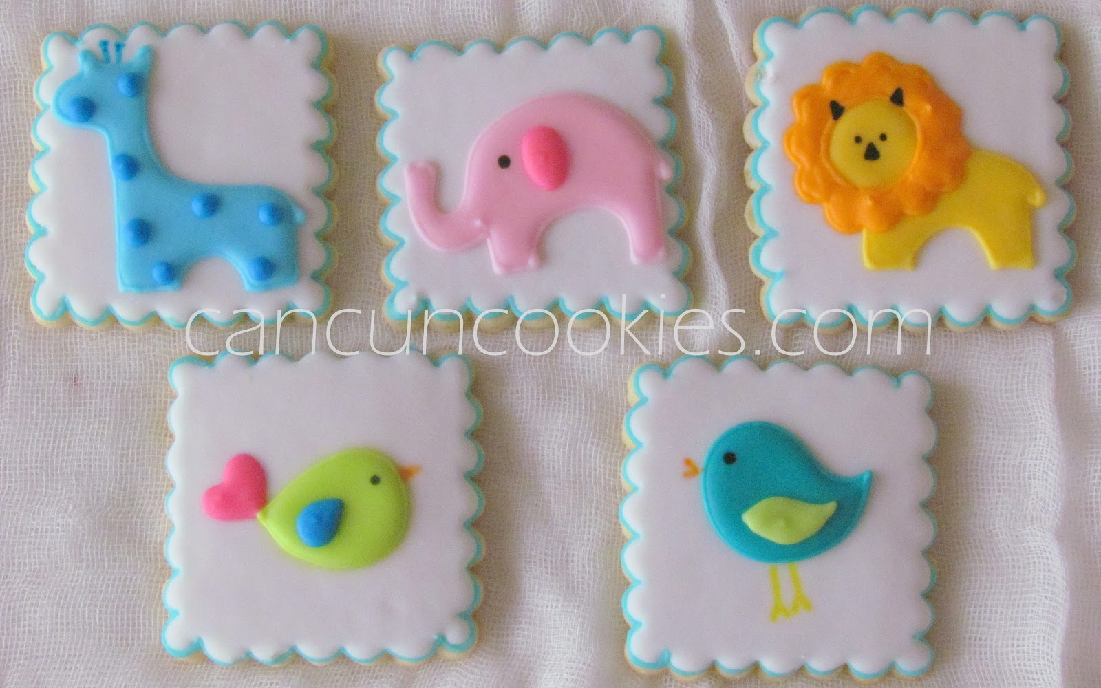 Galletas Decoradas Baby Shower Cancuncookies Galletas Decoradas