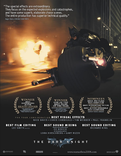 The Dark Knight For Your Consideration Poster
