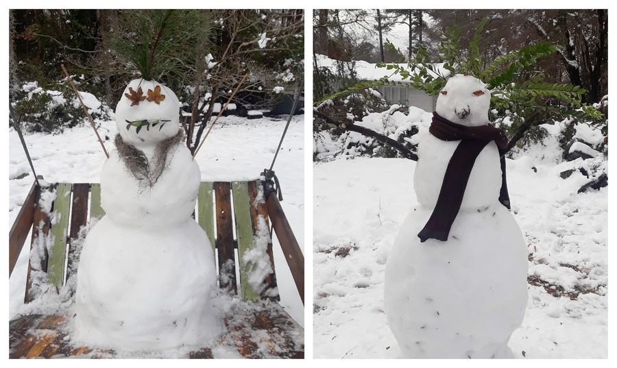 Jolis bonhomes de neige