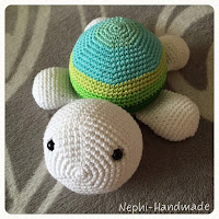 Schildkröten gehäkelt