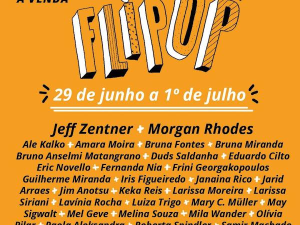 [Atualizada] 2ª FLIPOP - Festival de Literatura Pop