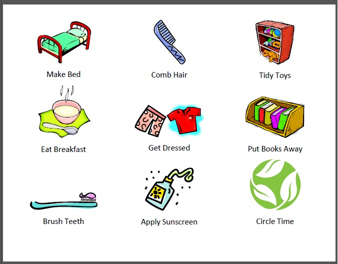 Gallery For > Printable Chore Clipart