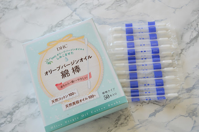 DHC Olive Virgin Oil Cotton Swabs Review