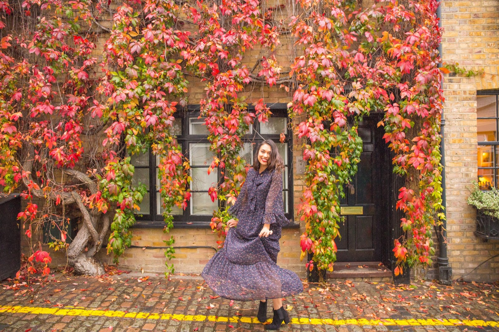 From the book where you might see the beautiful autumn leaves - Autumn Is One Of The Best Times To Explore London The City Is So Beautiful As You Start To See All The Red Oranges And Yellows Of Autumn