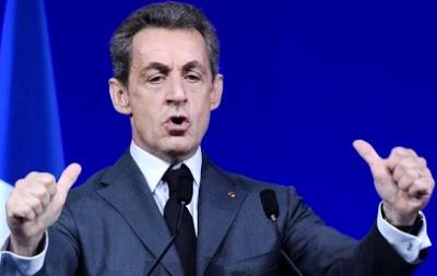 Foto de Nicolas Sarkozy en debate