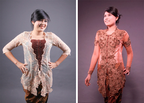 Contoh Desain Model Baju Kebaya Terbaru