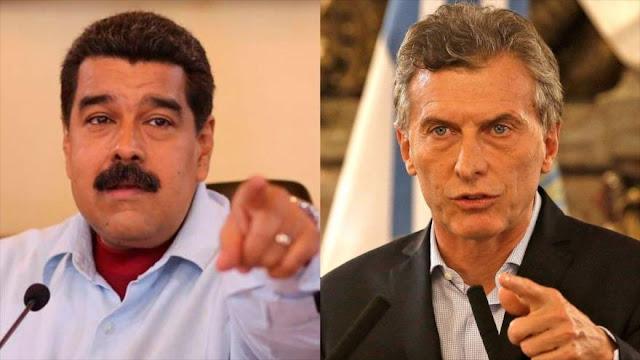 Macri quita condecoración a Maduro otorgada por Cristina Fernández