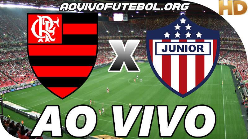 Flamengo x Junior de Barranquilla Ao Vivo na TV HD